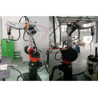 Articulated Industrial Arc Welding Robot AC Motor Driving For Stainless Steel Manufactures