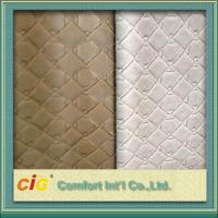 China 0.7mm Waterproof Synthetic Fake Leather Material Embossed For Bag on sale