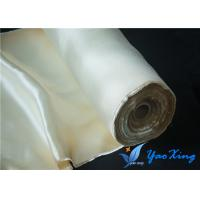 China 0.8MM Industrial High Temperature Fiberglass Cloth Fire Protection Fiberglass Material For Boats on sale