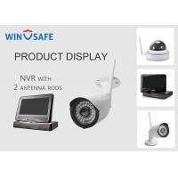 China Network Video Recorder NVR Wireless Security Camera System 20M IR Distance on sale
