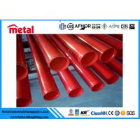 ERW 273MM Plastic Coated Gas Pipe , SCH STD Oil / Gas Line Polyethylene Coating Pipe Manufactures