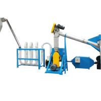 Automatic PET Flakes Washing Line / Plastic PET Washing Machine With Pipeline Dryer Manufactures