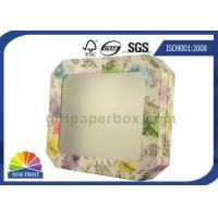 Detachable Lid Custom Printing Rigid Gift Box With Clear PVC Window OEM / ODM Manufactures