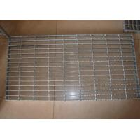 Walkway Galvanized Serrated Steel Grating Anti Slip Customized Manufactures
