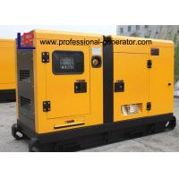 40kw Power Silent Type 50kVA Electirc Diesel Generator 220V / 380V , with Cummins 4BTA3.9-G2 Engine Manufactures