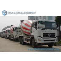 Dongfeng Dalishen 10 Wheeler 11 Cubic Meter Ready Mix Concrete Truck Manufactures