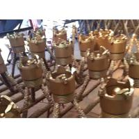 China Durable PDC Core Bits / Carbide Core Bits Forging Processing For Ore Well Drilling on sale