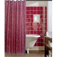 China Polyester Shower Curtain Waterproof on sale