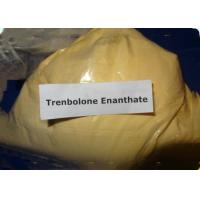 Muscle Growth Tren Anabolic Steroid Trenbolone Enanthate Yellow Crystalline CAS 10161-33-8 Manufactures