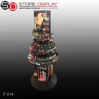 Round shape floor display stand for nail polish Manufactures