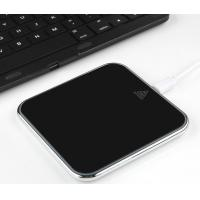 Glass Mirror Wireless Phone Charger , 7.5w Universal Mobile Stand Micro USB Cell Phone Qi Wireless Charger Manufactures
