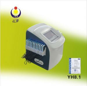 YH8.1china market new ultrasonic cavitation vacuum slimming machine Manufactures