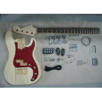 Four String HB Bass DIY Electric Guitar Kits With Pearl Loid Pickguard AG-BS2 Manufactures