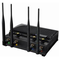 China Signal jammer | Adjustable Desktop Cell Phone Jammer with Four Bands Manufactures