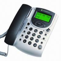 China Caller ID Telephone, Animated with Clock Screen Display on sale