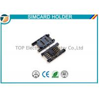 Simple Board Guide Micro SIM Card Holder Surface Mount Right Angle Manufactures