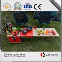 Aluminum Alloy Folding Luggage Camping Cooking Station For Camping 7.4kgs Manufactures