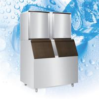 China RoHS Commercial Ice Maker Machine With Mocrocomputer Control Board on sale