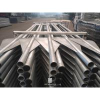 China V- post Hot dipped galvanized post with wings of bottom Metal Fence Posts on sale
