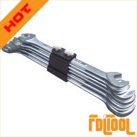 China 6PCS Angle Type Double Open End Spanner on sale