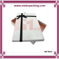Custom paper box for T-shirt, durable paper gift box ME-TB004 Manufactures