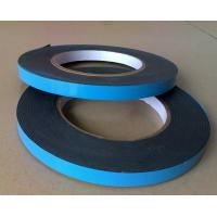 China Solvent acrylic EVA, PE foam 1mm self adhesive double sided tape with blue film liner on sale