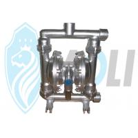 Air Powered Stainless Steel Diaphragm Pump For High Viscous Liquid Manufactures