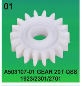 A503107-01-GEAR-20T-FOR NORITSU 1923-NORITSU 2301-NORITSU-2701 FOR MINILABS,COLORLABS PARTS Manufactures