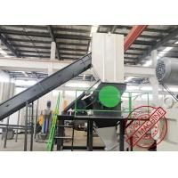 Fast Plastic Waste Recycling Machine Pp Pe Pet Film Bags Bottle Washing Line for sale