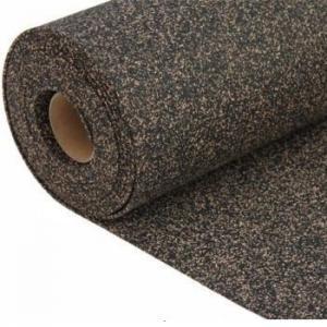 China Nitrile Rubber Bonded Cork Sheet on sale