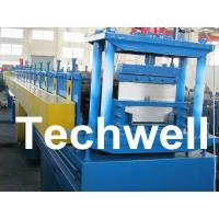 2.5mm Thickness Ridge Cap Roll Forming Machine With Manual, Hydraulic Decoiler Manufactures