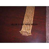 "2 "" Width Knitted Copper Wire Mesh Double / Multi - Filament Durable And Long Service Life Manufactures"