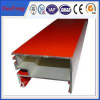 New! aluminum alloy 6063 t5 extrusion profile for curtain wall price Manufactures