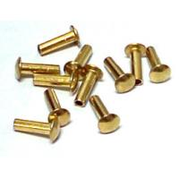 China Precision Hardware Parts Zinc / Chrome / Nickle Plating Rivets, Stainless Steel Rivets on sale