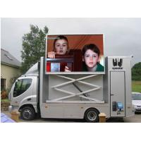 IP67 / IP65 PH10mm 1 / 4 Scan 1R1G1B Truck Mounted Led Displays with Wide Viewing Angle Manufactures