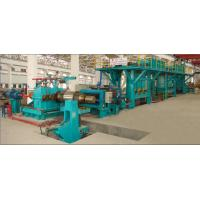 High Efficiency Electrolytic Cleaning Line For Removing Oil / Scrap Iron Manufactures