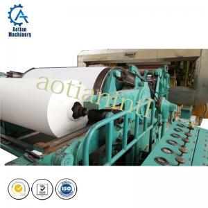 China A4 culture paper making machine( direct rice straw pulp cultural paper machine) on sale