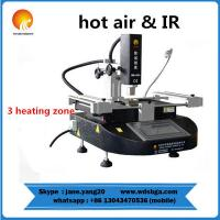 WDS-430 macbook hot air smd rework soldering station with infrared heating repair machine Manufactures