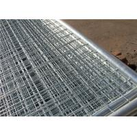 Buy cheap Commercial public safety outdoor removable temporary fencing easy to install from wholesalers
