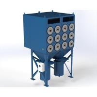 China Powder Coating Dust Collector Pulse Cleaning Technology Good Air Capacity on sale