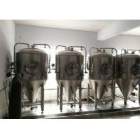 Steam Jacket 10 Bbl Brewing System , Pub Fully Automated Brewing System Manufactures