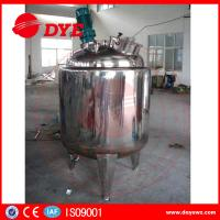 Food Grade Stainless Steel Storage Tanks Electric Heating Liquid Manufactures