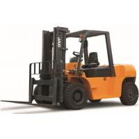 7 Ton Diesel Forklift Truck Large Loading Capacity Small Turning Radius CE Certificated for sale
