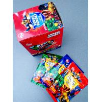 Super heroes powder candy with poker healthy and funny Manufactures
