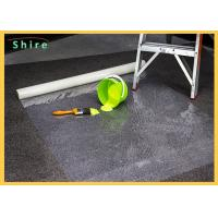 Protective Carpet Shield Self Adhesive Film Mask , Carpet floor temporary protection film Manufactures