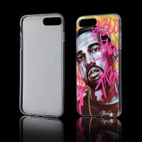 China Custom made mobile phone case high quality technology IMD IML printed phone case for iphone 7 plus case on sale