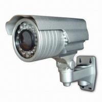 Weather-proof IR Camera with 4 to 9mm Lens, 1/3-inch Sony Sharp, CCTV Pickup Device Manufactures