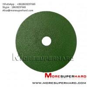 green cut off wheel , cutting disc Alisa@moresuperhard.com Manufactures