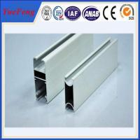 Hot! OEM/ODM aluminum frames door parts with glass panel, aluminum door frame extrustion Manufactures