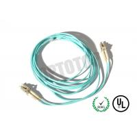 2F ZIP 2.0mm Lc Fiber Patch Cord OM4 B/I For Data Processing Networks Manufactures